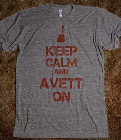 I *heart* the Avett Brothers...