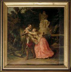 François André Vincent | Henri IV quitte Gabrielle d'Estrées