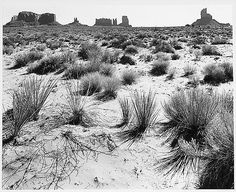 Ansel Adams (American, 1902-1984); Monument Valley, Arizona;