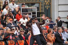 """""""IT'S PA-GONE!!!"""" or Angel Pagan :)  San Francisco Giants 2012 World Series Parade by InPursuingDesign"""