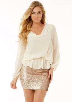 Madison Sequin Mini Skirt - View All Skirts - Skirts - Clothing - Alloy Apparel