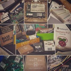 Something we loved from Instagram! I'm #stillsmiling about the #awesomeprizes we won from #swdenton best #startupweekend #prizes and #giveaways yet.  #nerdporn #hardwarehardon #raspberrypi #raspberrypi2 #devkit #electronics #playtime #christmasgifttomyself by thereforeandres Check us out http://bit.ly/1KyLetq