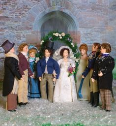 Pride and Prejudice dolls to celebrate 200 years of the Jane Austen novel