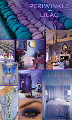 6 Unexpected Color Combinations That Look Amazing Together periwinkle & lilac. so unexpected Colour Schemes, Color Trends, Color Combos, All Things Purple, Shades Of Purple, Purple Gray, Lilac Color, Pastel Purple, Periwinkle Blue