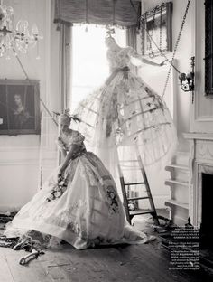 Photographer Tim Walker and stylist Katie Grand have collaborated for the 5th anniversary of Love Magazine with an extraordinary shoot dedicated to Dolce Alta Moda. #TimWalker ☮k☮
