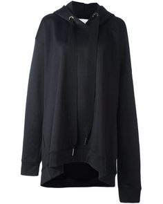 Marques'Almeida | Black Oversized Cotton-Jersey Hoodie for Men | Lyst