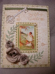 Graphics 45 Secret Garden Key by swandog-4 - Cards and Paper Crafts at Splitcoaststampers