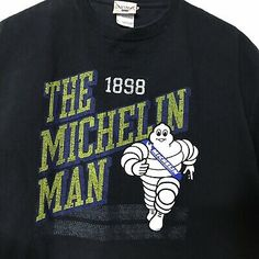 Patch Iron on Embroidered Applique MICHELIN Man Tyre Tires Racing Jacket T shirt