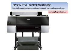 EPSON STYLUS PRO 7890/9890 - Projetada para atender o mercado de fotografia comercial e prova de cor. Confira: