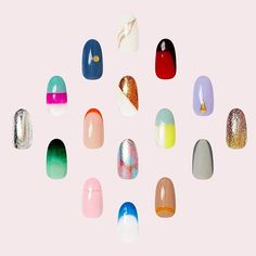 Major news: Just in time for fashion week - our FW'16 collection drops today, and we're psyched to show it to you. Bursting with reflective textures, thoughtful color combos, and bold, graphic designs, there's a powerhouse for everyone. #paintboxmani #fashionweekmani #nails #nailart