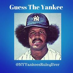 #GuesstheYankee  Who is this #Yankee?  Only The Fro knows #Yankees #YankeeStadium #yankeesfan