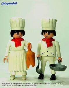 cozinheiros playmobil