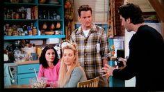 Monica's apartment kitchen friends tv show