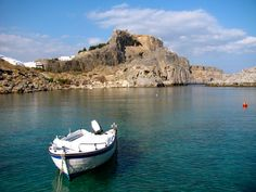 Lindos, Rhodes  Greece What A Wonderful World, Wonders Of The World, Places Ive Been, Greece, Water, People, Outdoor, Wheels, Greece Country