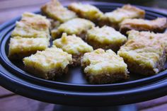Ooey Gooey Butter Bars...Even though these little slices of heaven aren't the healthiest things out there, I decided to share the recipe because of how much everyone raved about them when I took them to the Superbowl party I went to last Sunday. I have to give all recipe credit to Bubbie(my grandma). This recipe couldn't be easier, …