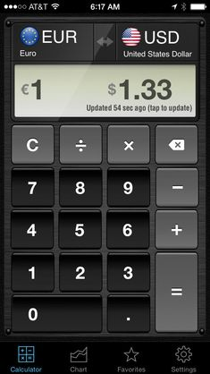 Currency Converter Hd Money Calculator With Exchange Rates For 150 Foreign Currencies Convert Dollars Euros Bitcoin And Many More By Lifelike