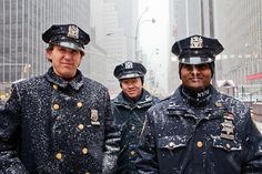 December in NY  NYPD  ©arielgonzalez