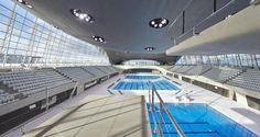London Aquatics Centre, completed in 2011.