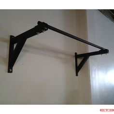 Commercial Wall Mounted Pull Up Bar, San Diego CrossFit Equipment Garage Pull Up Bar, Diy Pull Up Bar, Crossfit Equipment, Training Equipment, No Equipment Workout, Home Made Gym, Diy Home Gym, Pilates Studio, Pilates Reformer