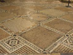 Tile floors in San Marco, Venice, Italy