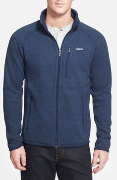 Patagonia 'Better Sweater' Zip Front Jacket available at #Nordstrom