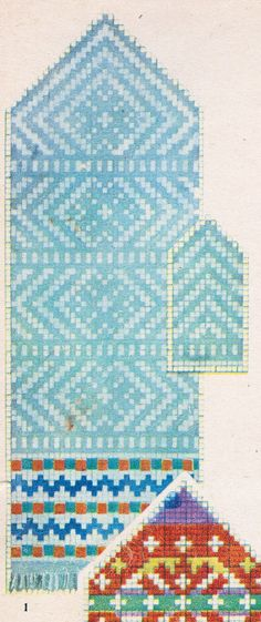"aasta ""Käsitöö Albumist"" leiab hunnituid musterid: moes on kõik rahvus . Knitted Mittens Pattern, Knit Mittens, Mitten Gloves, Fall Knitting, Knitting Charts, Knitting Patterns, Knitting Ideas, Projects To Try, Outdoor Blanket"