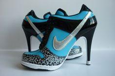 jordan shoes high heels