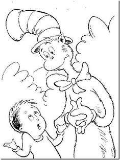 Top cat coloring pages printable ~ Top 25 Free Printable Cat In The Hat Coloring Pages Online ...