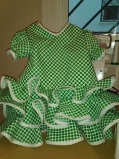 suit of flamenco for baby of six months