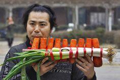 ESCUTA ESSA! - Irmãos Chineses Fazem Música com Vegetais - Bom Lazer - Seu fim de semana começa aqui