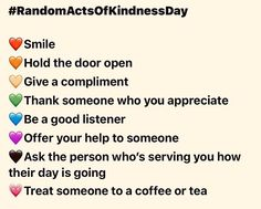 #randomactsofkindnessday #itsoktobenice Thanking Someone, Anglesey, Good Listener, Compliments, Appreciation, Treats, Day, Sweet Like Candy, Goodies