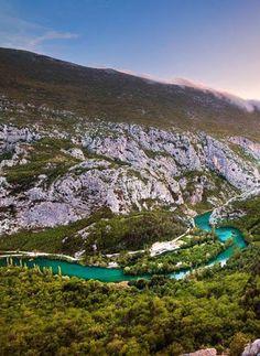 Cetina River - Croatia