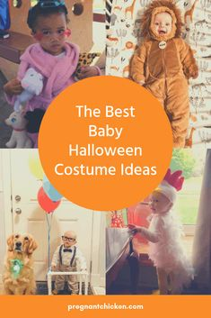The Best Baby Halloween Costumes Funny Baby Halloween Costumes, Diy Costumes For Boys, Baby First Halloween, Unique Costumes, Boy Costumes, Halloween Costumes For Girls, Family Halloween, Chicken Costumes, Pregnancy Costumes