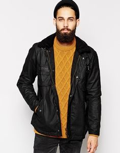 Mens Christmas Barbour Waxed Jacket. Country Chic meets the City! #mens #christmas #gift #guide #shirt