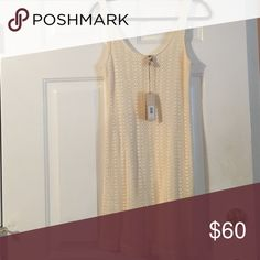 Banana Republic Dress Brand New With Tags. I bought it for an event a while back but changed my mind and never returned it. I love the crocheting! It would look adorable with gold jewelry! Banana Republic Dresses Mini
