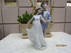 LLADRO Figurine #7642 ANNIVERSARY '10 YEARS TOGETHER'. MADE in SPAIN. 1995. in Collectibles, Decorative Collectibles, Decorative Collectible Brands   eBay