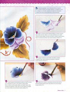 Revista Aprendiendo a Pintar en Tela Nº· 23 - Lucia Lopardo - Picasa Web Album