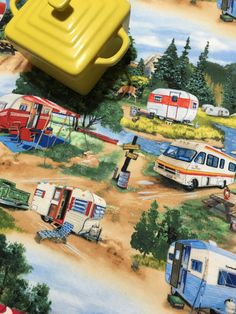 Camping Dish Drying Mat Motorhome RV and by MakingSomethingHappy