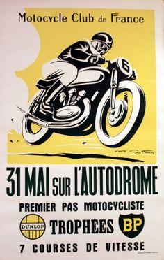 Geo Ham poster, 1950s