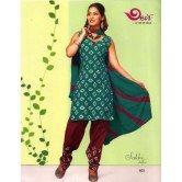 green-and-maroon-brown-salwar-suit-material