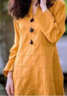 Sleeves Designs For Dresses, Dress Neck Designs, Stylish Dress Designs, Blouse Designs, Blouse Styles, Stylish Dresses For Girls, Casual Dresses, Fashion Dresses, Ladies Dresses