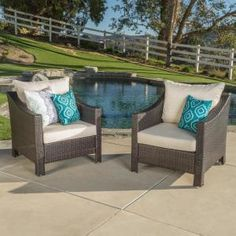 In Outdoor Wicker Chairs, Patio Dining Chairs, Outdoor Lounge, Outdoor Seating, Outdoor Living, Outdoor Furniture Sets, Outdoor Decor, Wicker Furniture, Lounge Chairs