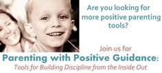 Parenting with Positive Guidance starts April 4th.  Come register, and use the TEAM code for 25 dollar discount.