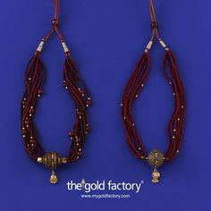 Gold Factory Dhanteras Special Creative Jewellery Season's special Betel Nut and Gold Collection. Exclusive to The Gold Factory and at astonishing prices.