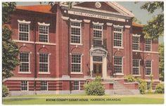 Boone County Court House, Harrison Arkansas