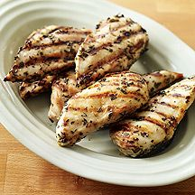 Image of   Lemon-and-Herb-Marinated Grilled Chicken Breasts