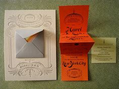 marci + ben invitations