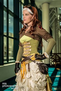 Victorian Steampunk Rogue #cosplay #steampunk