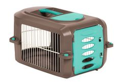 $24.98-$29.99 Suncast 23-Inch Pet Carrier Round - Easy tool free assembly *Durable wire and resin construction *Includes food and water tray *Comfortable carry handle *Easy access storage compartment *Perfect for air or car travel http://www.amazon.com/dp/B000QJD7RI/?tag=pin2pet-20