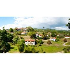 Housing for residents at Las Terrazas Pinar Del Rio Cuba Canvas Art - Panoramic Images (36 x 19)
